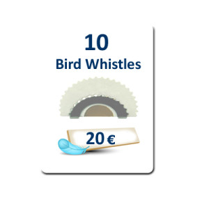 10 Bird Whistles plus FREE DELIVERY
