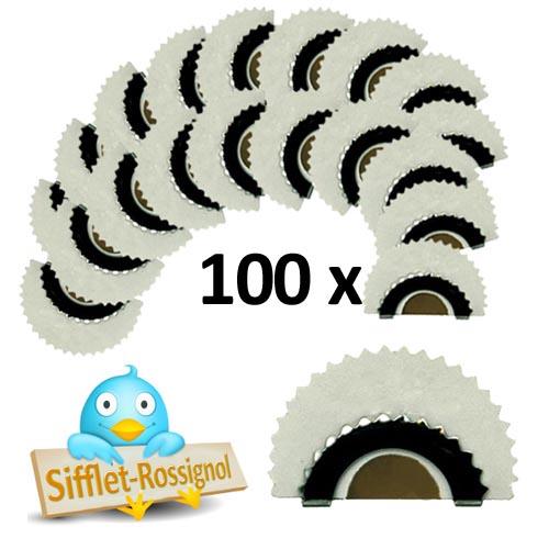 100 Bird Whistles plus Free Delivery