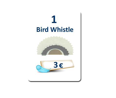1 Bird Whistle