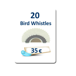 20 Bird Whistles plus Free Delivery