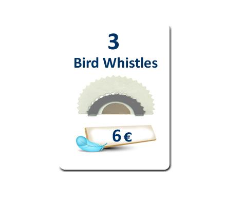 3 Bird Whistles