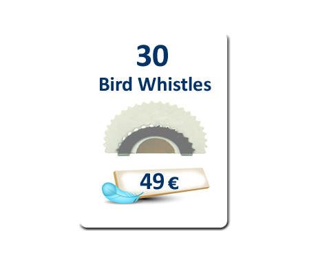 30 Bird Whistles plus Free Delivery